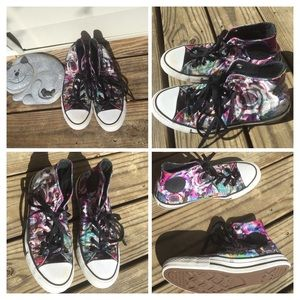 7ce881f36464 Converse Shoes - Converse Chuck Taylor All Star HighTop Dead Floral